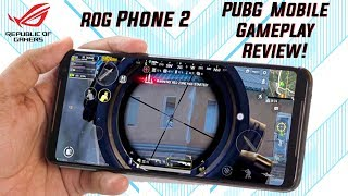 PUBG GAMEPLAY on ASUS ROG PHONE 2! 1080p 60fps gameplay with FPS Data!