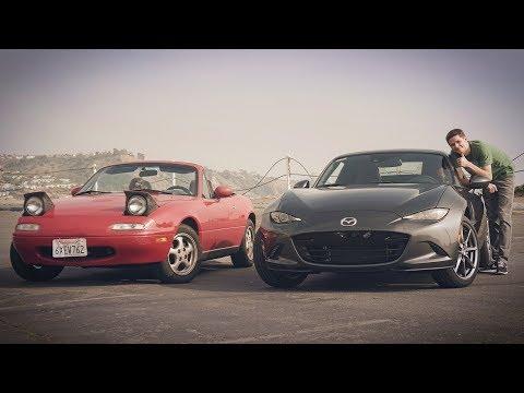 Mazda MX-5: ляля за 100к рублей или ведро за 2млн? Что стало с Миатой в 2018 и что было в 1990.