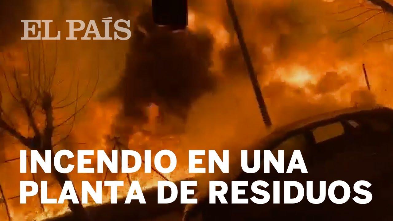 Las imágenes del INCENDIO en Montornès del Vallès
