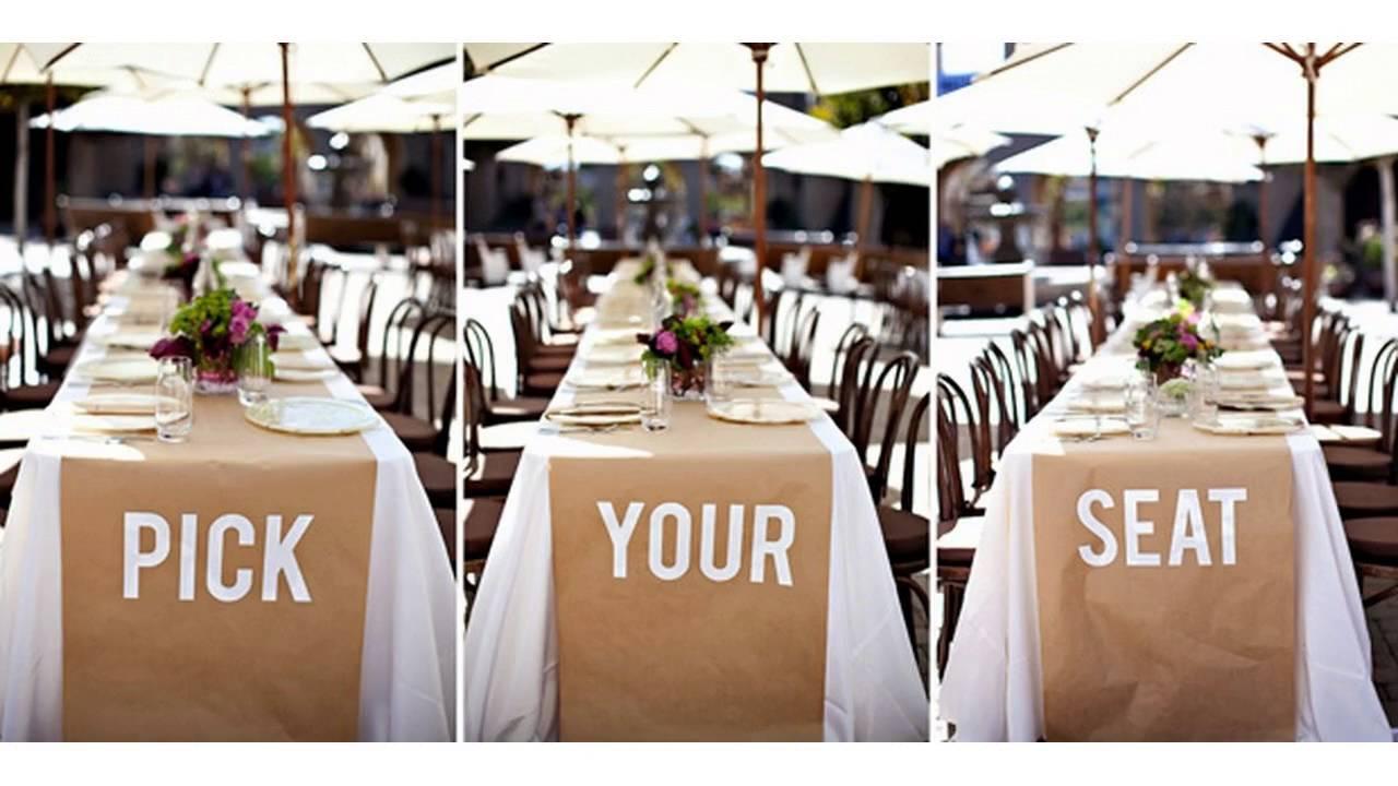 March Wedding Decoration Ideas
