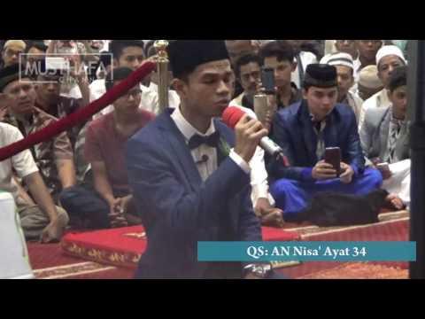 Muzammil Hasballah Jadi Qari Pembaca Alquran di Pernikahannya Sendiri
