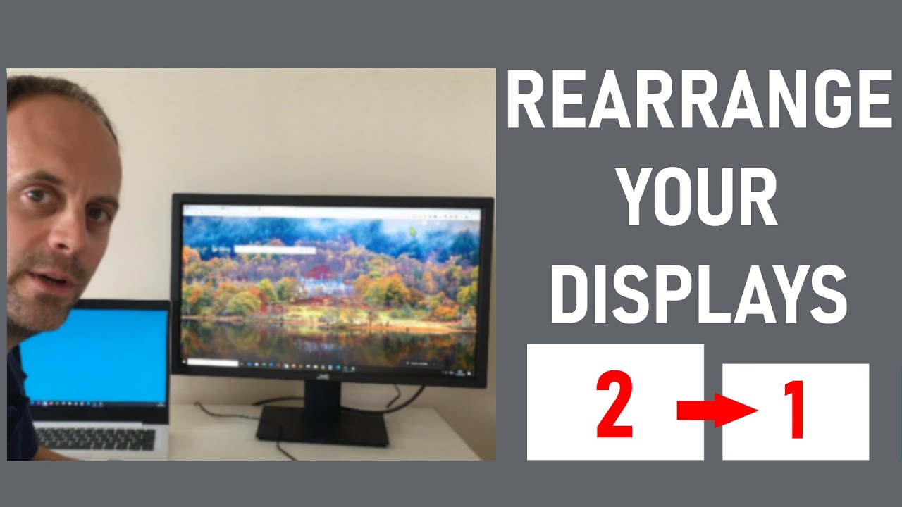 How To Make A Display The MAIN DISPLAY In Windows 10   CHANGE ...