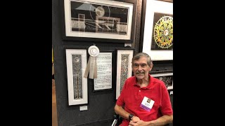 Artist Gary Bachers- Stroke Survivor -  Stroke and Aphasia 7th Annual Language of Love Telethon