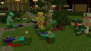 Zombie Life : Iron Zombie Apocalypse - Minecraft Animation