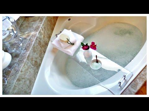 DIY Acrylic Bathtub Tray + DIY Milk Bath🛁