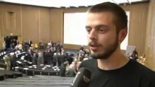 Freiburg: Studentischer Protest übertönt Mappus-Rede