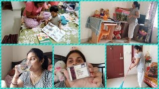 Indian Mom Daily Routine With 1 Year Old Baby ||speaking Tree – Exfoliating Coffee Handmade Soap