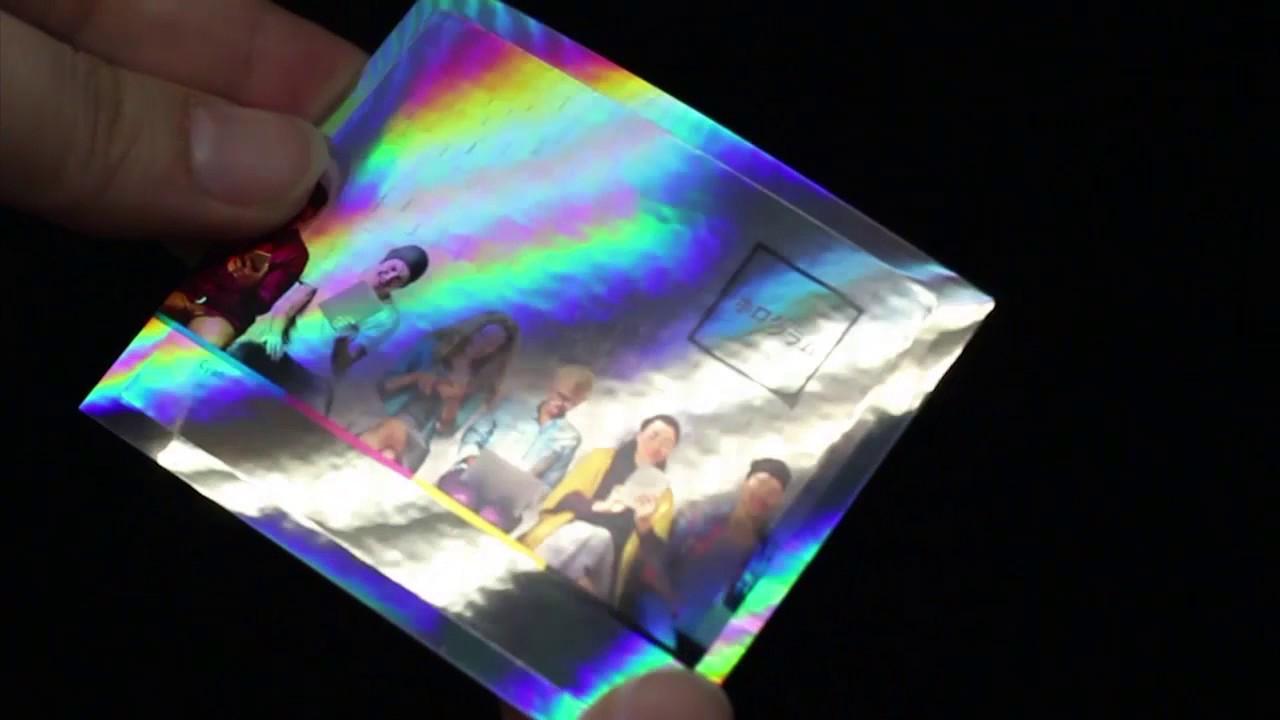 ステッカー 作り方 ホログラム