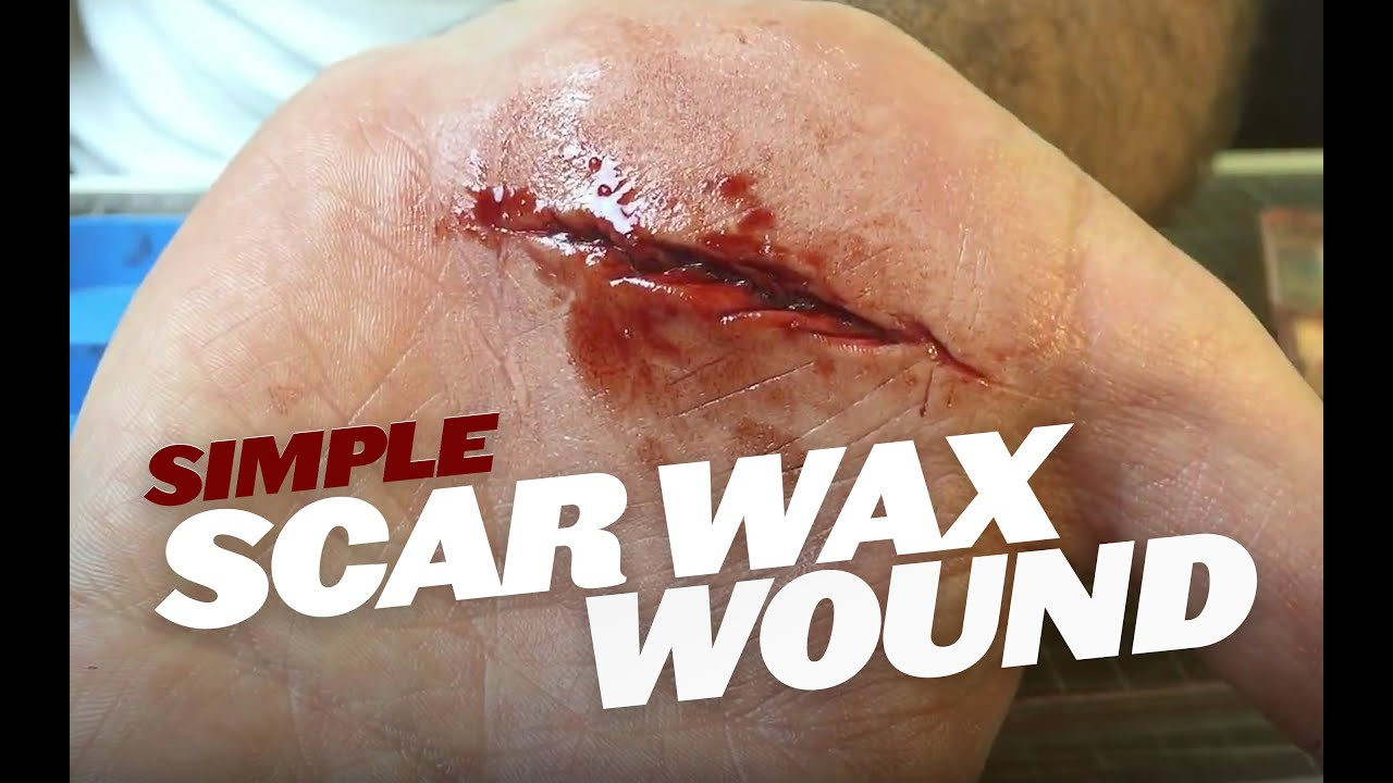 how to make a wound