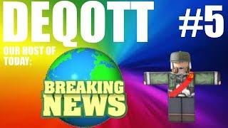 Roblox Breaking News!#5 (Fortnite Memes Is Back)