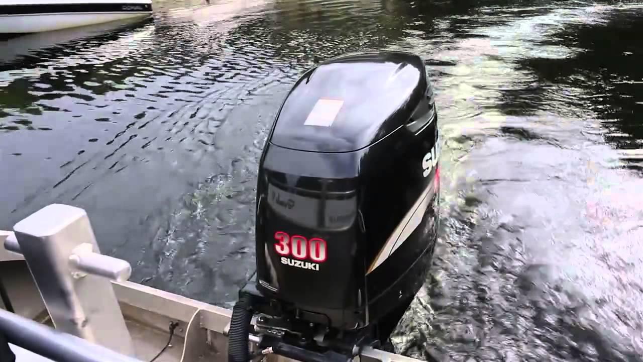Suzuki Outboard DF300 - Customer Testimonial