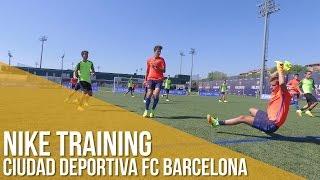 Análisis Colección Nike Training en Ciudad Deportiva FC Barcelona