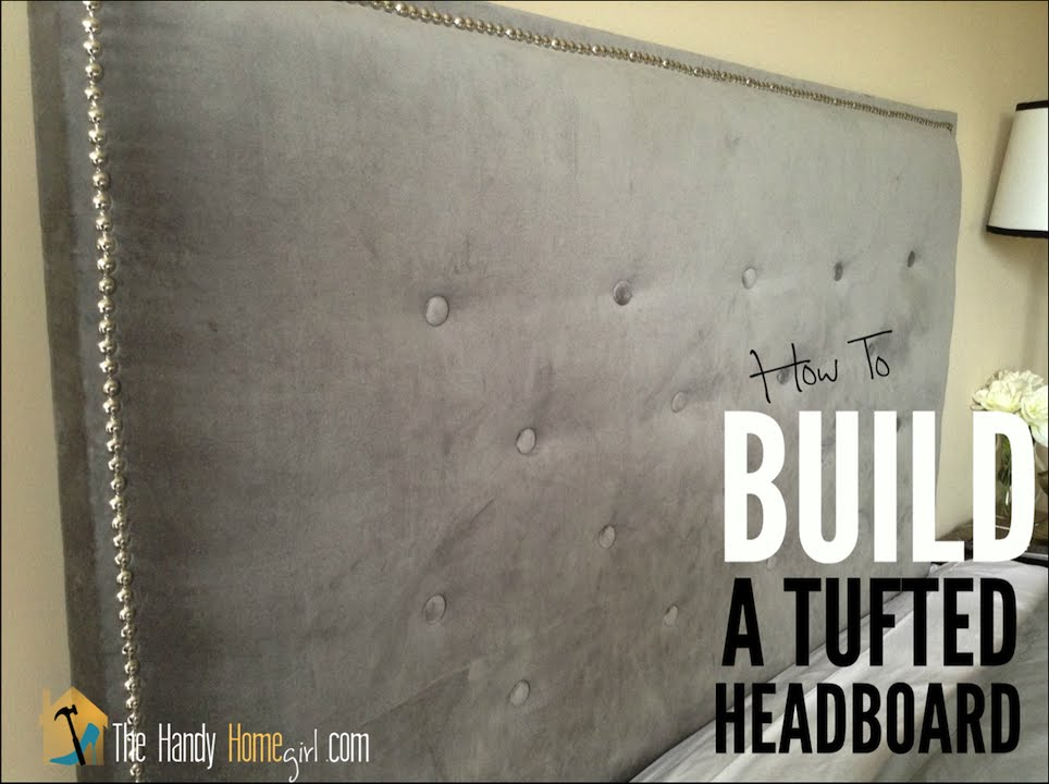 How To Upholster A Headboard Tufted Diy Tutorial Ep 04 You