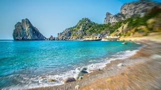 Звуки моря в Крыму, шум прибоя, волны...