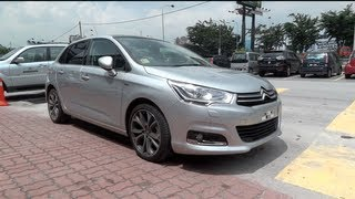 2012 Citroën C4 Exclusive Start-Up and Full Vehicle Tour