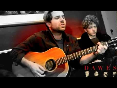 "Dawes ""Million Dollar Bill"" : Live, Backstage and Unplugged (an Honest Tune Exclusive)"
