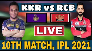 VIVO IPL LIVE | RCB vs KKR 10TH  MATCH LIVE | Bangalore vs Kolkata Live