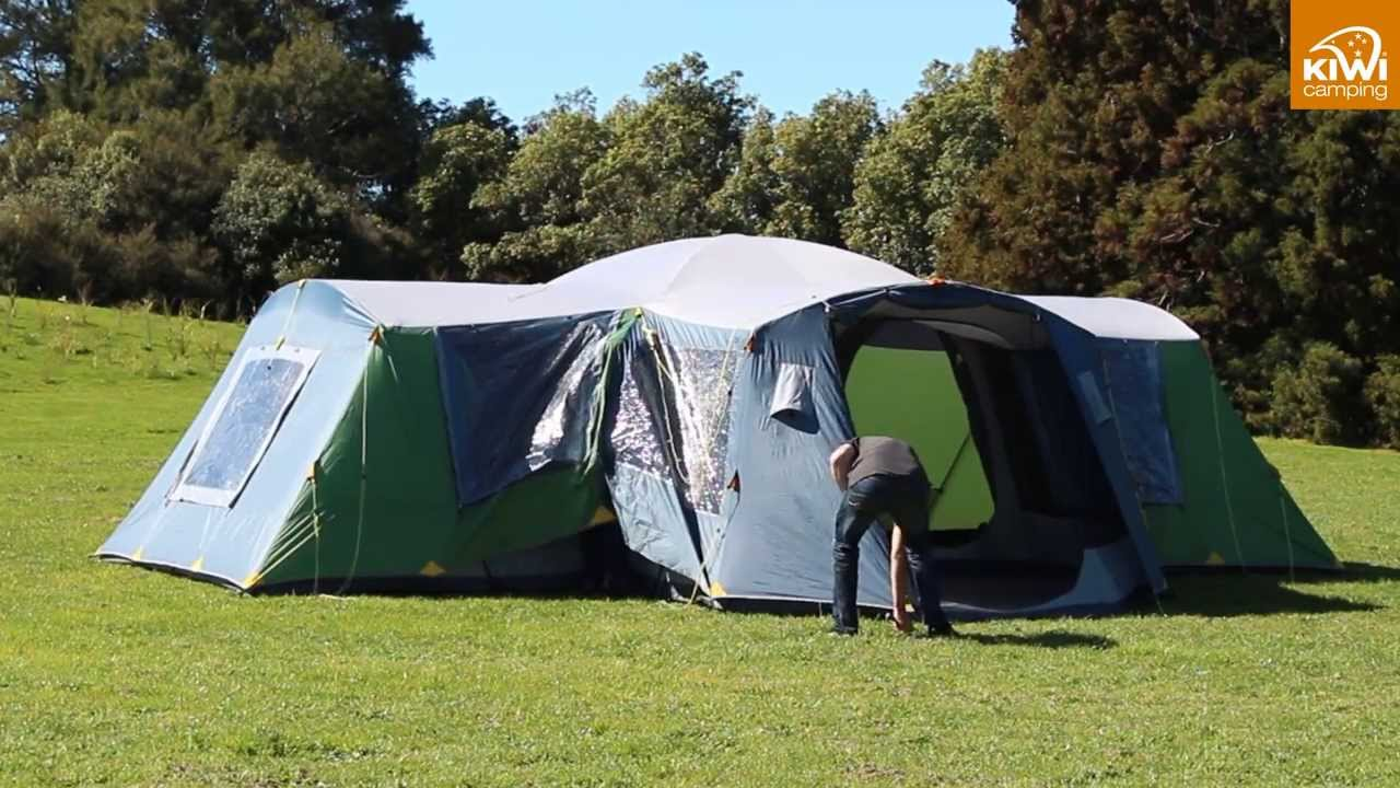 & Kiwi Camping Takahe 10 u0026 15 Dome Tent - Pitching - YouTube