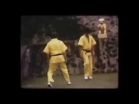 Неизвестные док. кадры с Брюсом Ли - Остров дракона1972