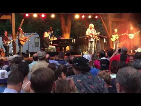 """The Way It Is"" - Bruce Hornsby & Ricky Skaggs with Kentucky Thunder (Pisgah Brewing) June 21, 2016"