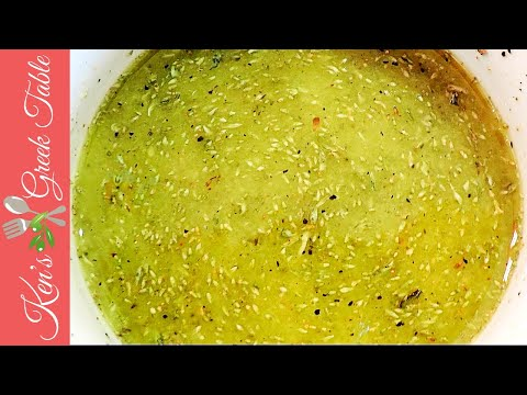 Homemade Greek Marinade | Easy Greek Marinade Recipe (Lemon, Olive Oil & Oregano)
