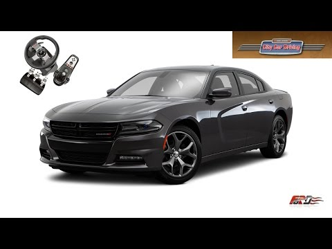 Maserati GranTurismo, Ferrari 360, Dodge Charger SRT8 тест драйв, обзор City Car Driving