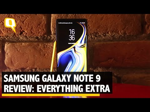 Samsung Galaxy Note 9 Review: It's a 'Note' That Offers Extra