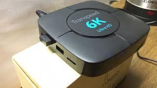 Приставка transpeed 6k с aliexpress - обзор и настройка