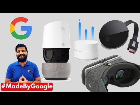 Daydream VR, Chromecast Ultra, Google Wi-Fi, Google Home  #MadeByGoogle
