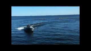 Самодельный РИБ WinBoat-390R + Tohatsu 3...