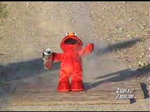 Exploding Elmo Death