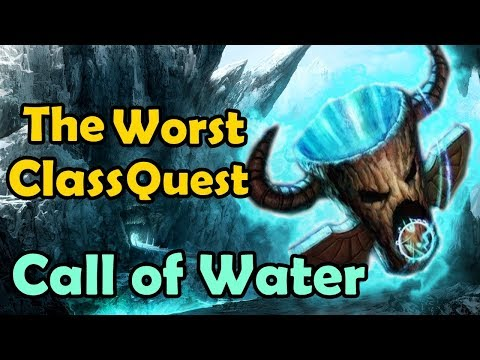 The Worst Class Quest - Call Of Water (How To Get The Water Totem Classic)