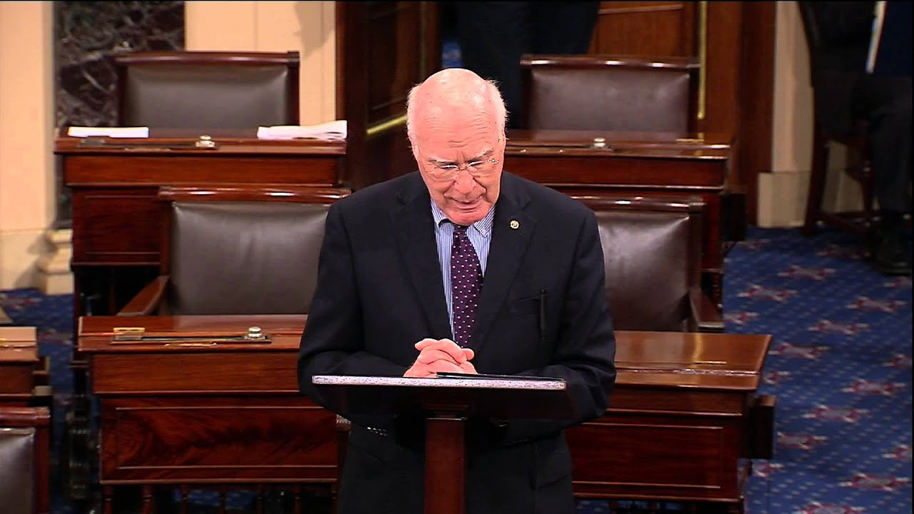Leahy Again Asks For Agreement To Vote To Renew Bulletproof Vest