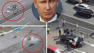 Vladimir Putin driver 'assassination' - Vladimir Putin's Car Crash