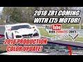2018 CORVETTE PRODUCTION & ZR1 UPDATE   LT5 COMING!