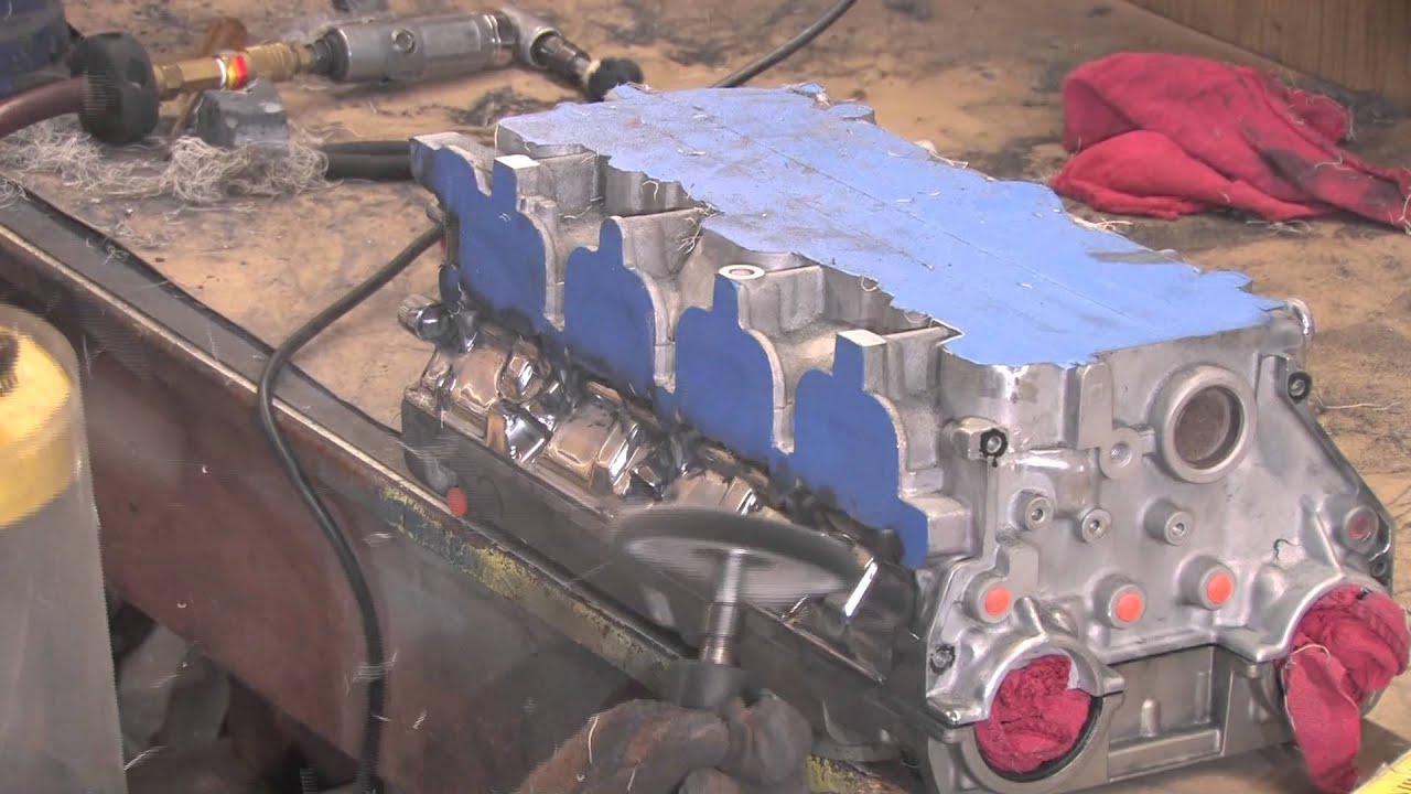 service manual how to clean aluminum cylinder head and