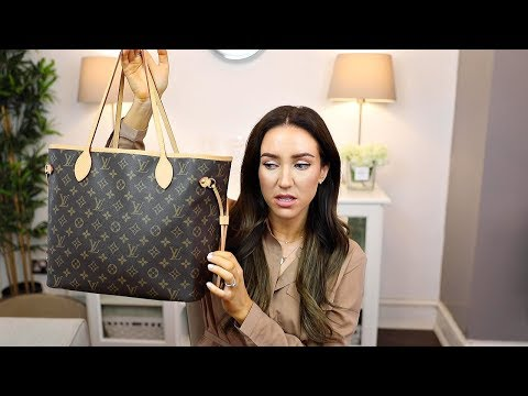 LOUIS VUITTON NEVERFULL BAG REVIEW, Damage? Worth it?   Lisa Gregory