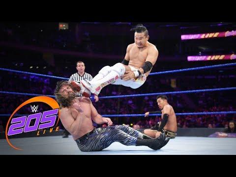 Brian Kendrick & Akira Tozawa vs. Gentleman Jack Gallagher & Kushida: WWE 205 Live, Sept. 10, 2019