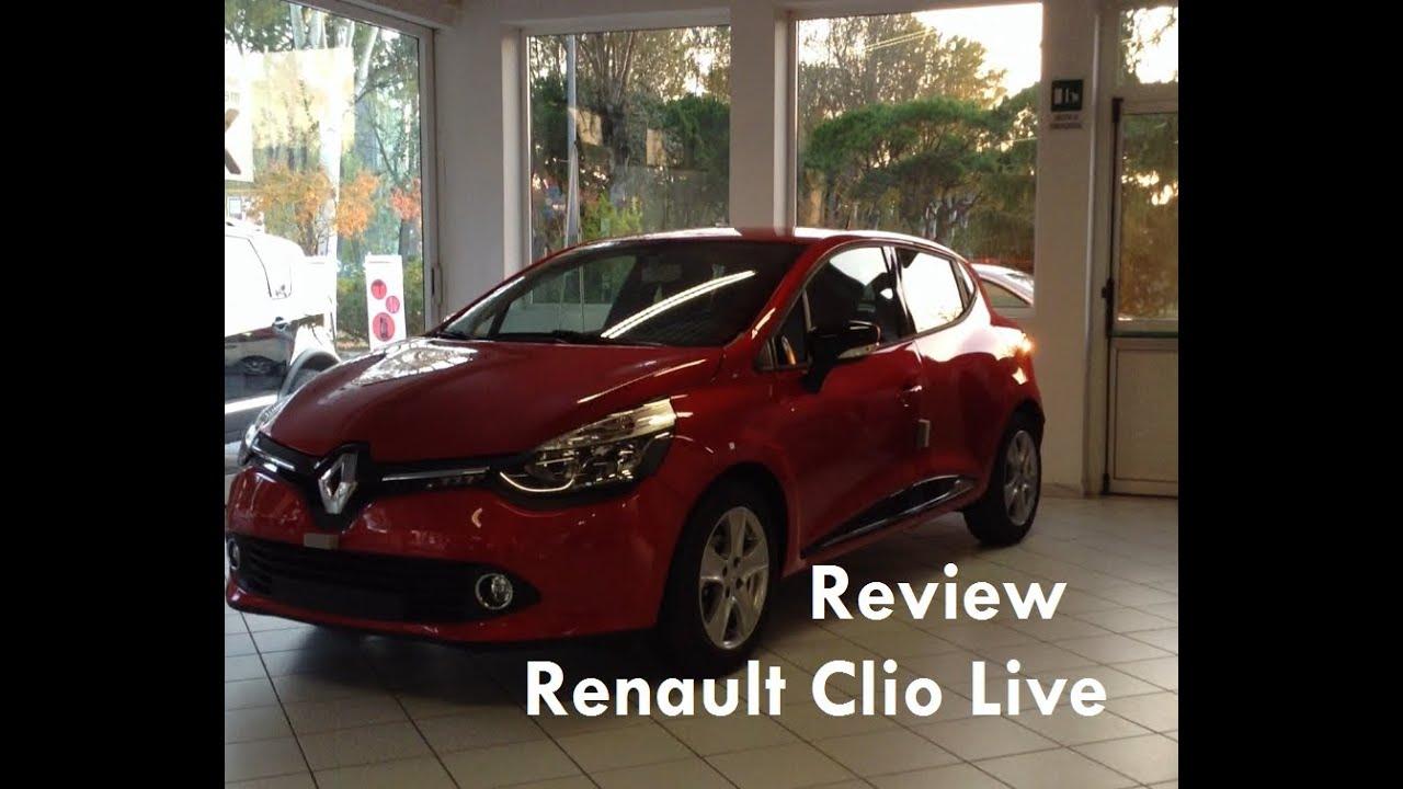 2013 Renault Clio IV 1 2 review - Recensione Nuova Renault Clio 1 2
