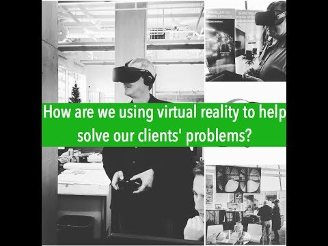 How an electrical engineering firm is using virtual reality to help solve our clients' problems?