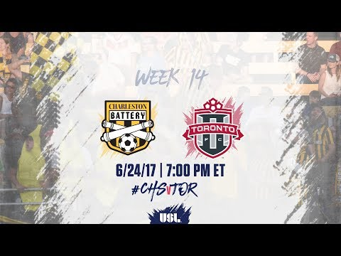 Thumbnail: USL LIVE - Charleston Battery vs Toronto FC II 6/24/17