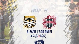 Charleston Battery vs Toronto FC USL full match