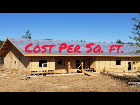 What is the cost per sq. ft. to build a home?