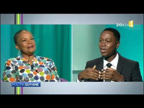 Extrait de Politik.Guyane avec Christiane Taubira - Guyane 1ère
