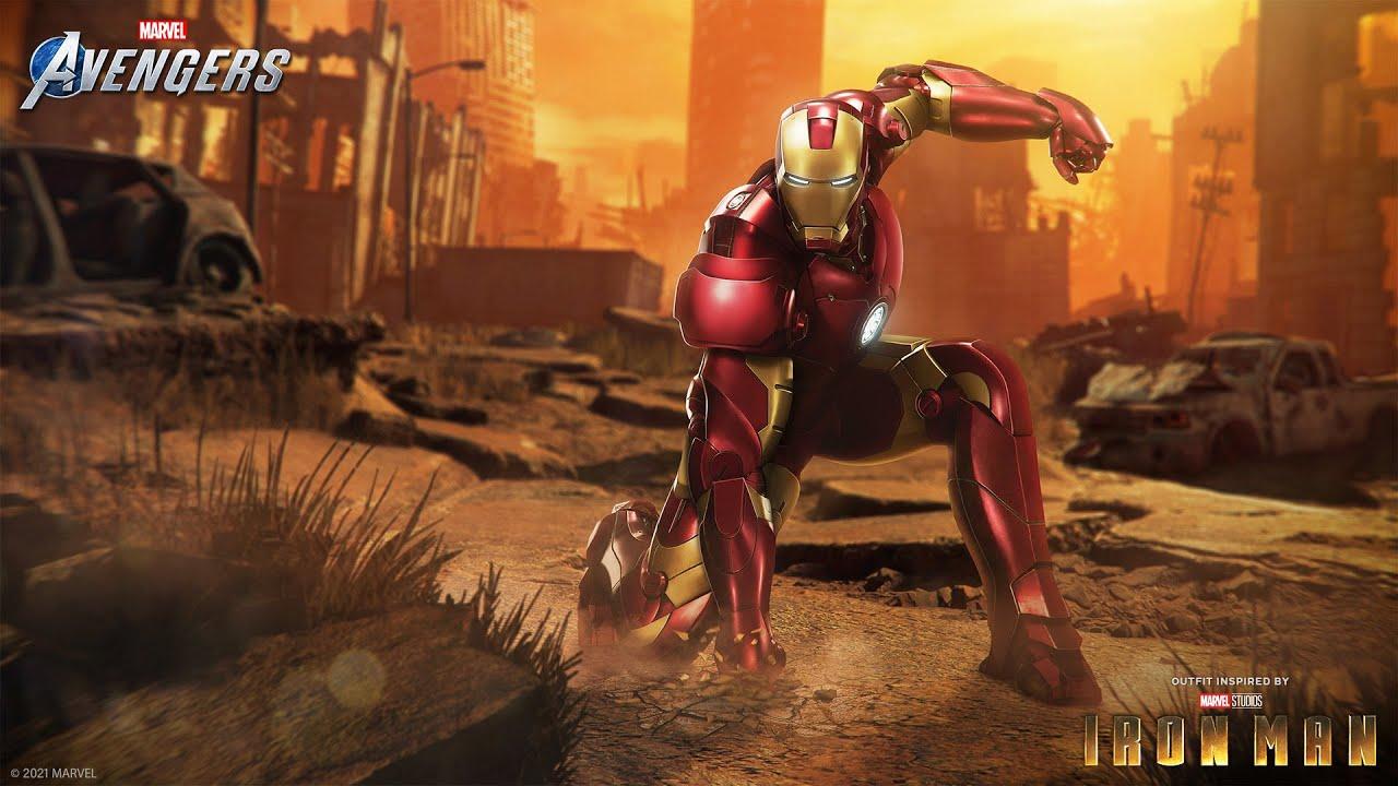 "Marvel's Avengers - Iron Man's ""Marvel Studios' Iron Man"" Outfit"