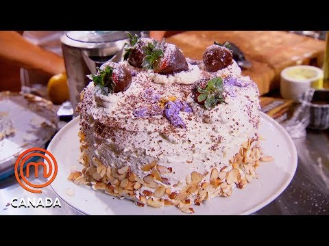 How To Make A Birthday Cake 🍰   MasterChef Canada   MasterChef World