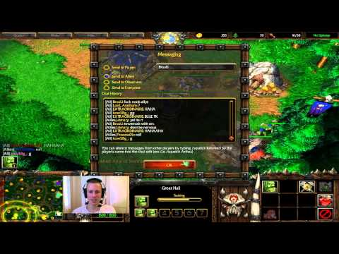 Warcraft 3 - 813 - Some Cheeky Warcraft 3 Games