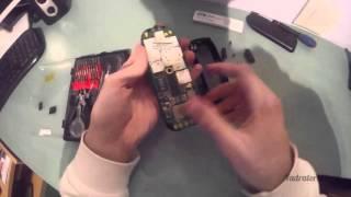 Motorola M3588 disassembly (Retro brick phone from 1999)