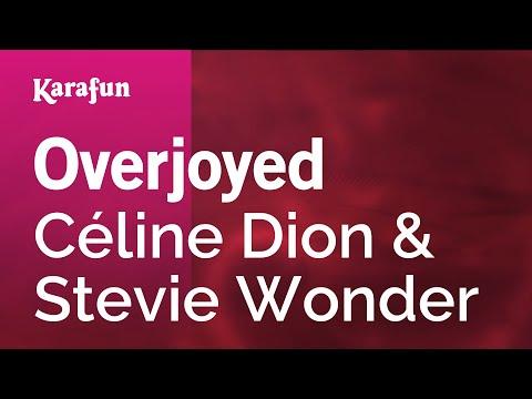 Karaoke Overjoyed - Céline Dion *