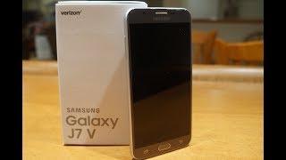 Samsung Galaxy J7 V Unboxing